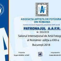 AAFR Patronage